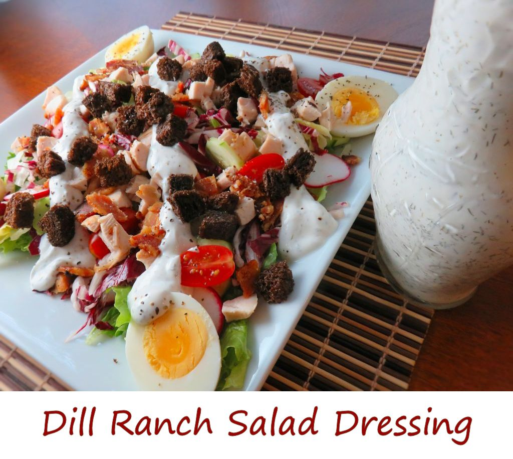Dill Ranch Salad Dressing