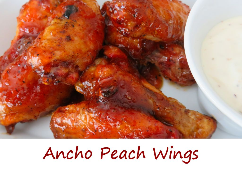 Ancho Peach Wings