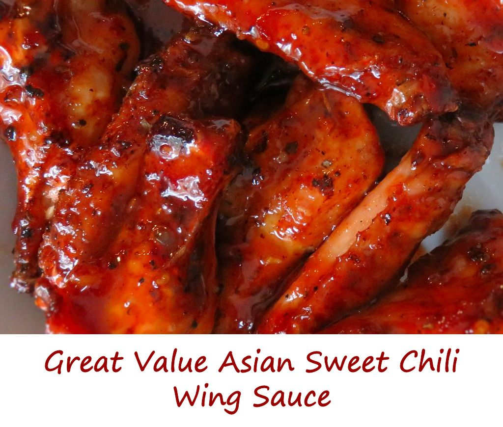 Great Value Asian Sweet Chili Wing Sauce
