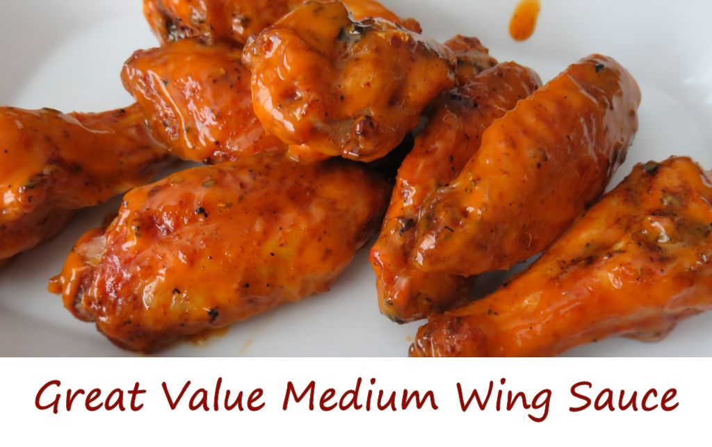 Great Value Medium Wing Sauce
