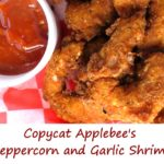 Copycat Applebee's Peppercorn and Garlic Shrimp