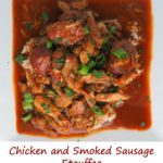 Chicken and Smoked Sausage Etouffee