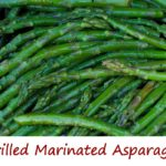 Grilled Marinated Asparagus