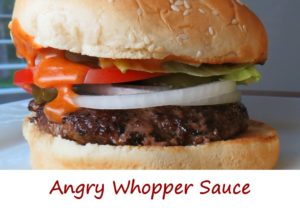 Angry Whopper Sauce