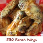 BBQ Ranch Wings