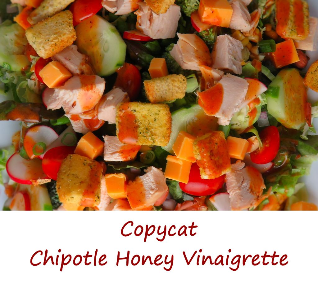 Copycat Chipotle Honey Vinaigrette