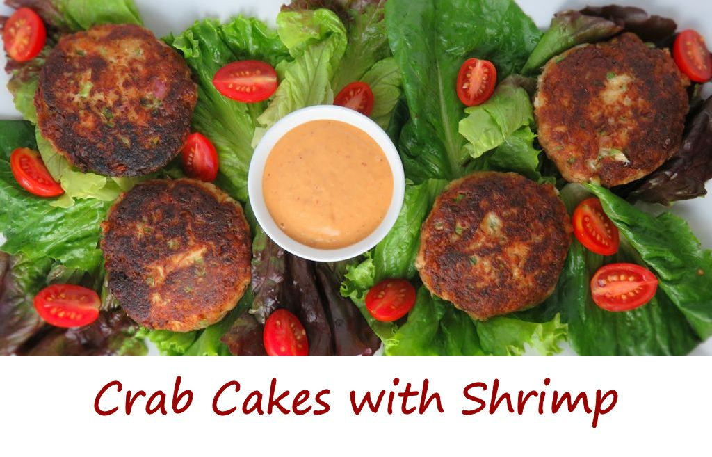 Crab Cakes with Shrimp
