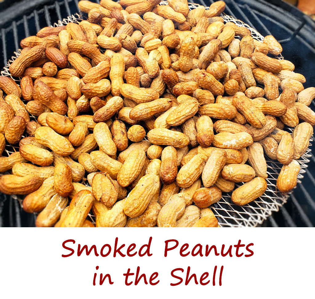 Smoked Peanuts in the Shell