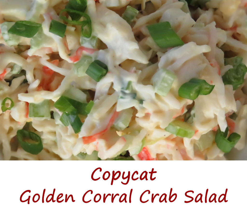 Copycat Golden Corral Crab Salad