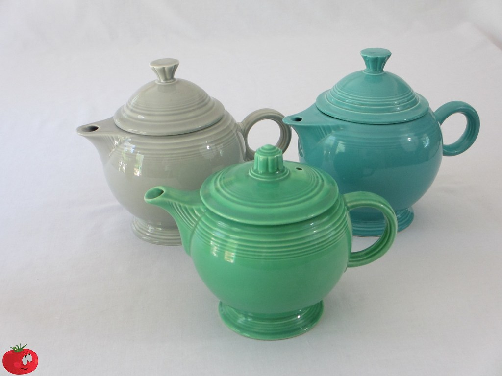 Homer Laughlin Fiesta Teapots