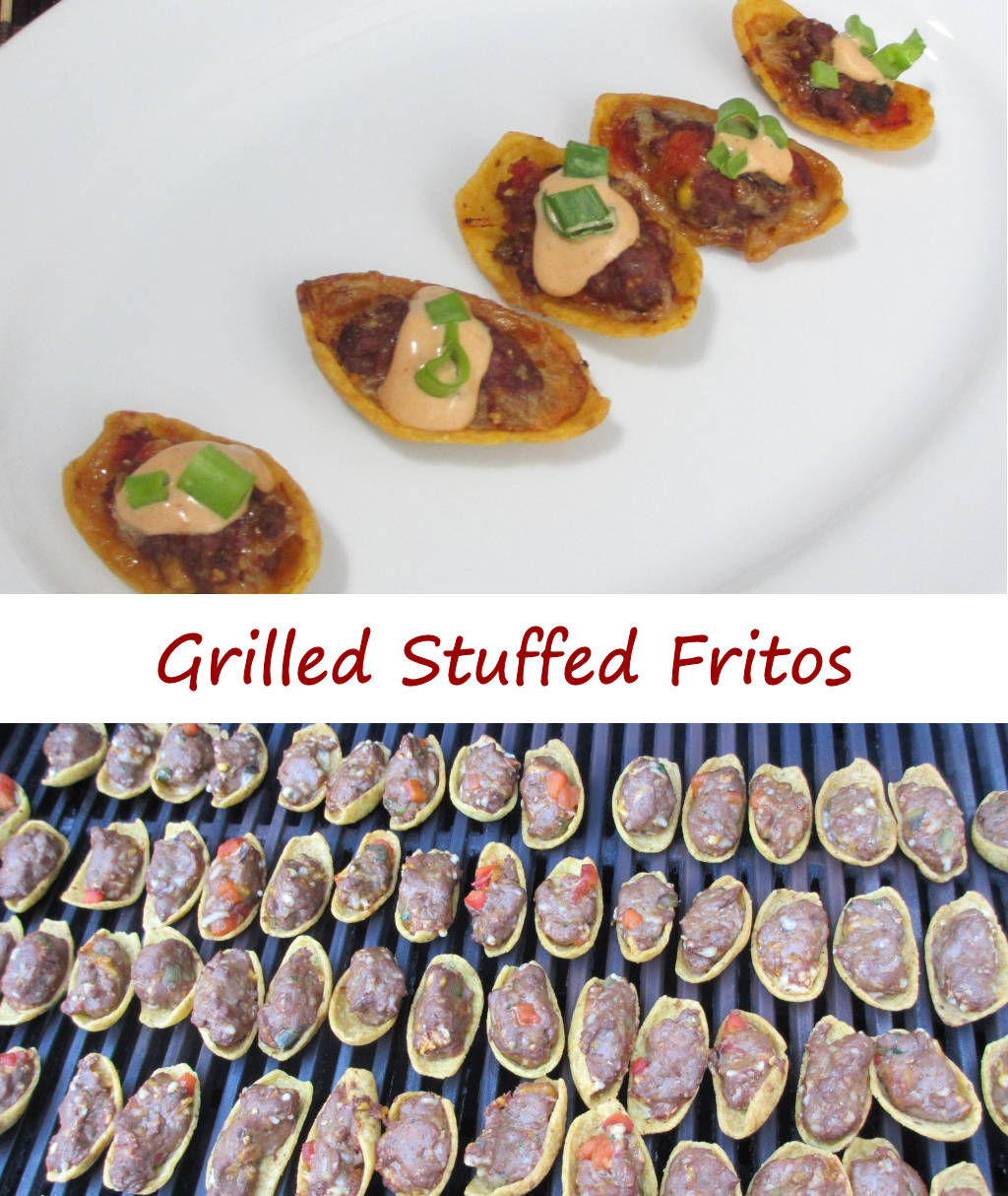 Grilled Stuffed Fritos with Southwestern Sauce