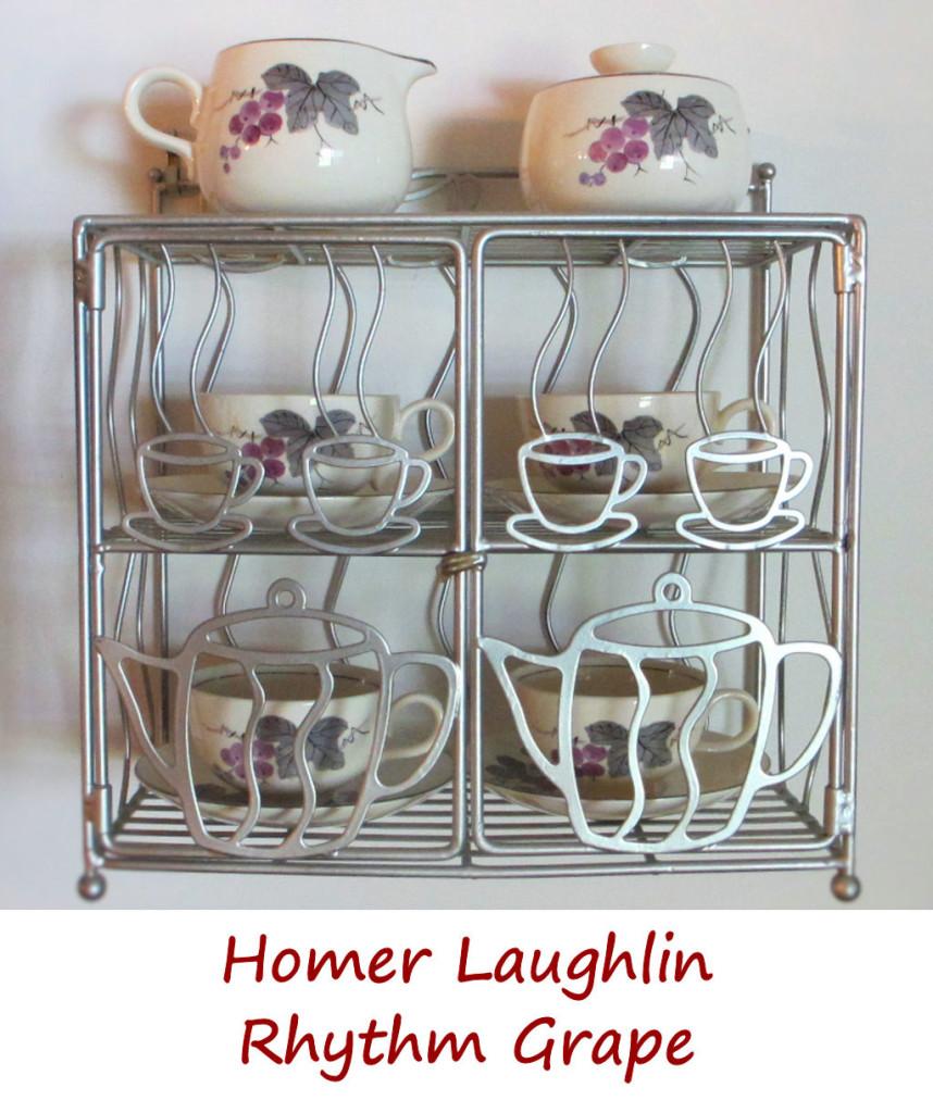 Homer Laughlin Rhythm Grape