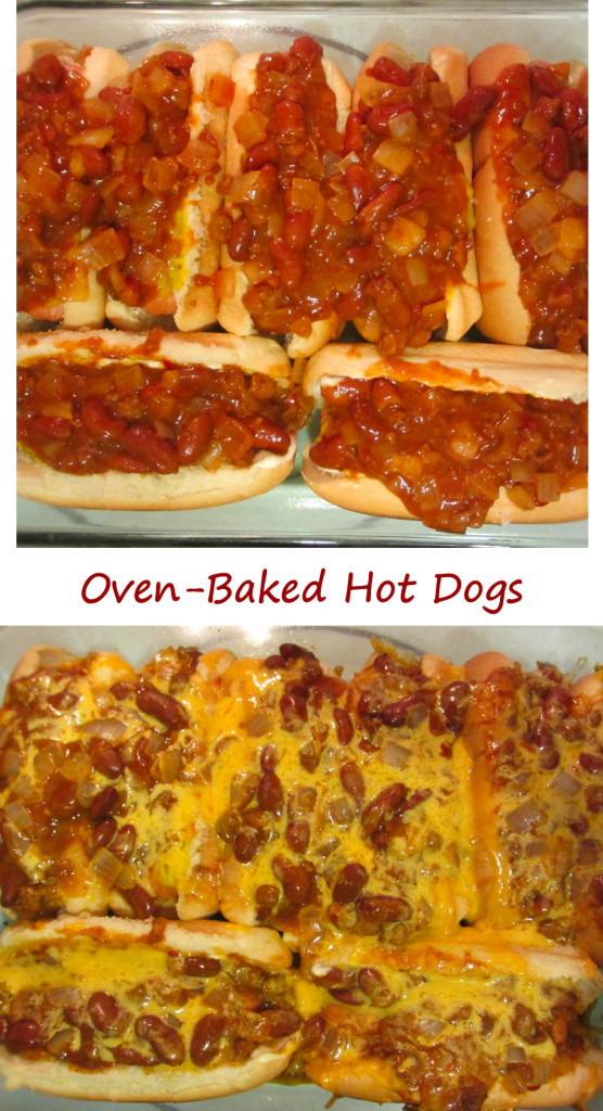 Oven-Baked Hot Dogs