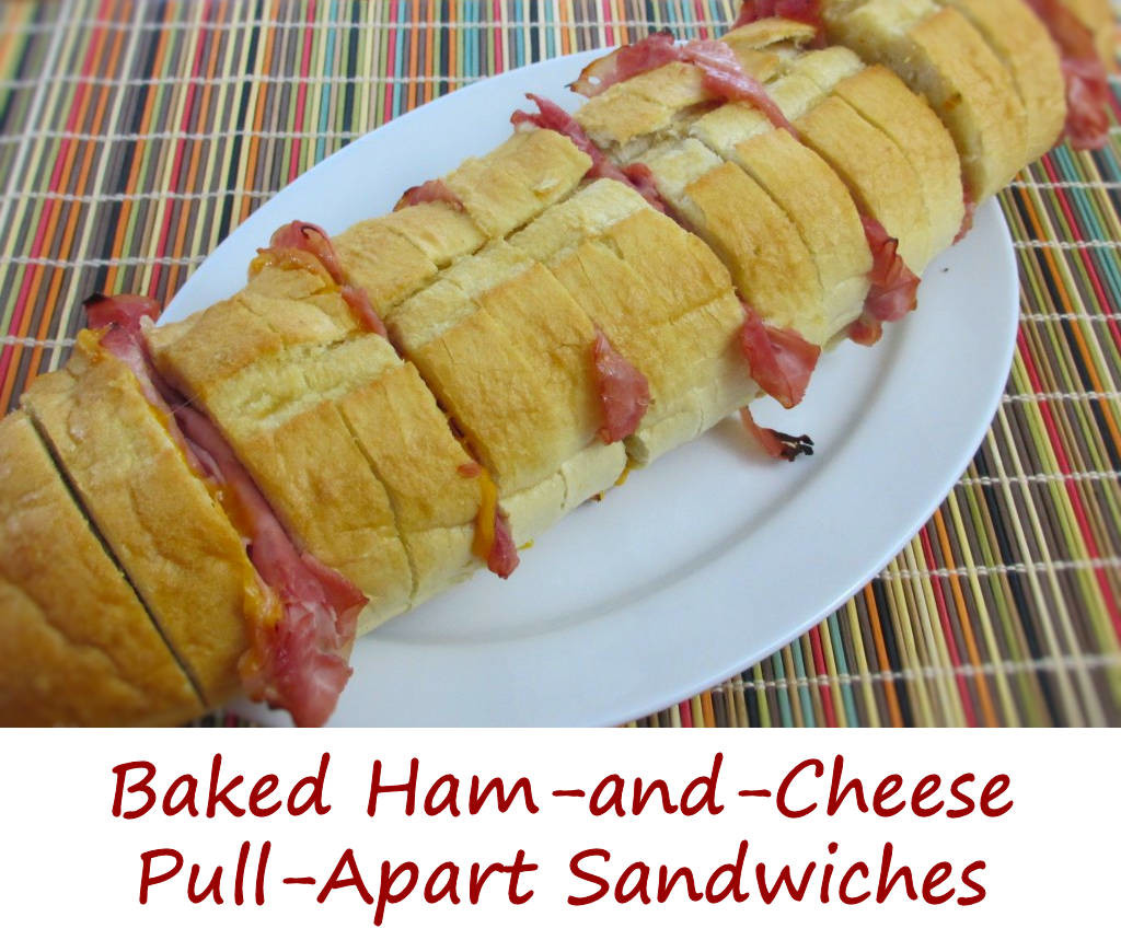 Baked Ham-and-Cheese Pull-Apart Sandwiches