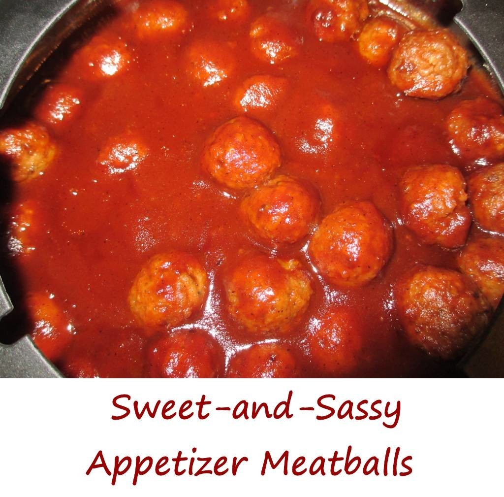 Sweet-and-Sassy Appetizer Meatballs