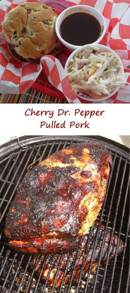 Cherry Doctor Pepper Pulled Pork with Cherry Doctor Pepper BBQ Sauce