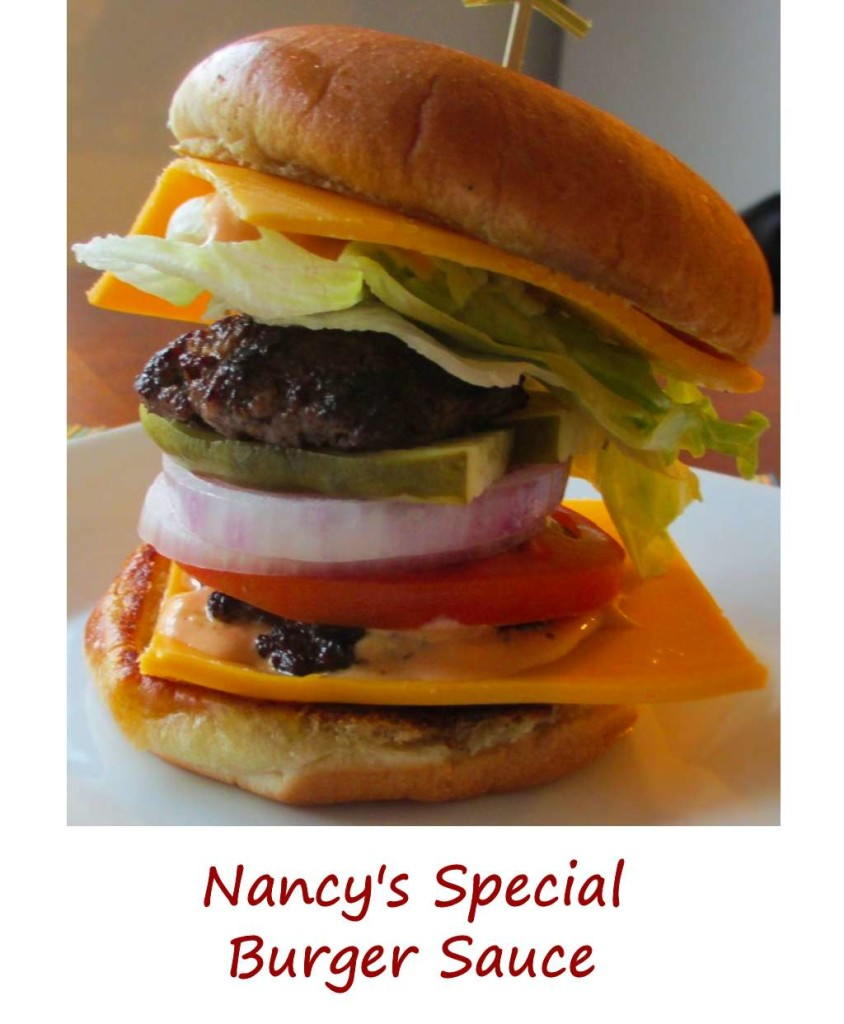 Nancy's Special Burger Sauce
