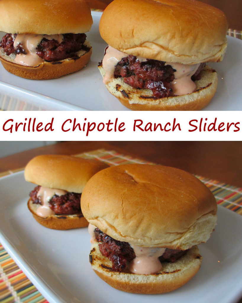 Grilled Chipotle Ranch Sliders