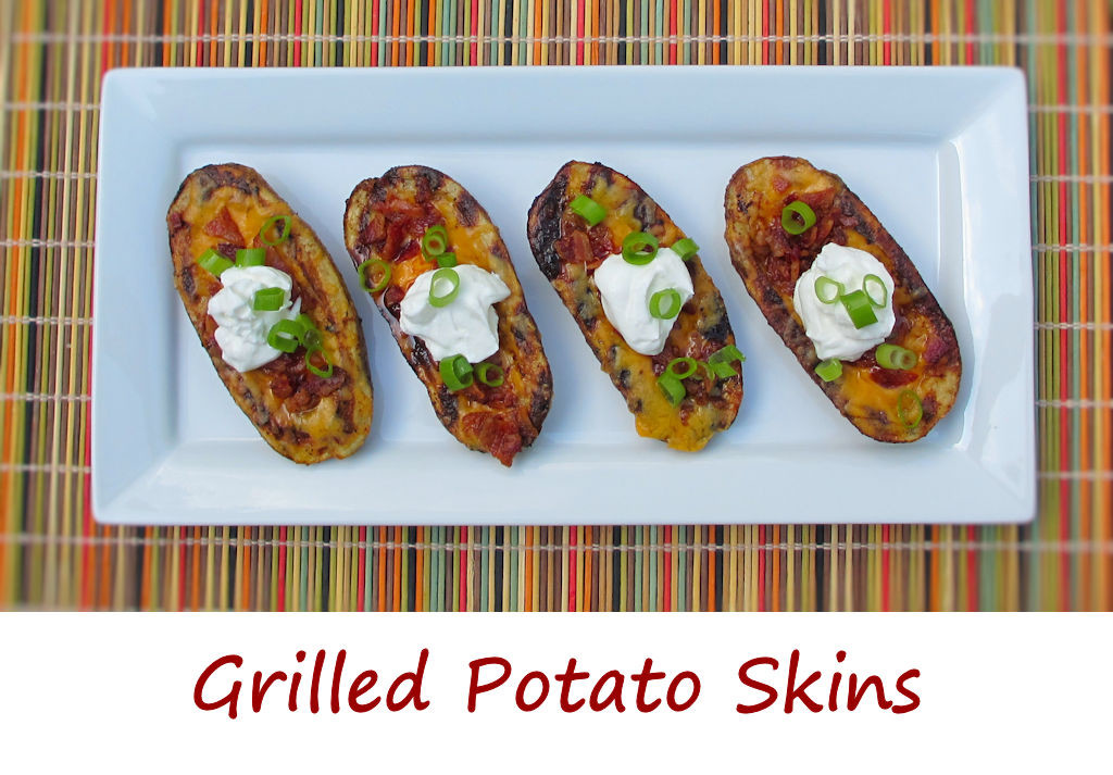 Grilled Potato Skins