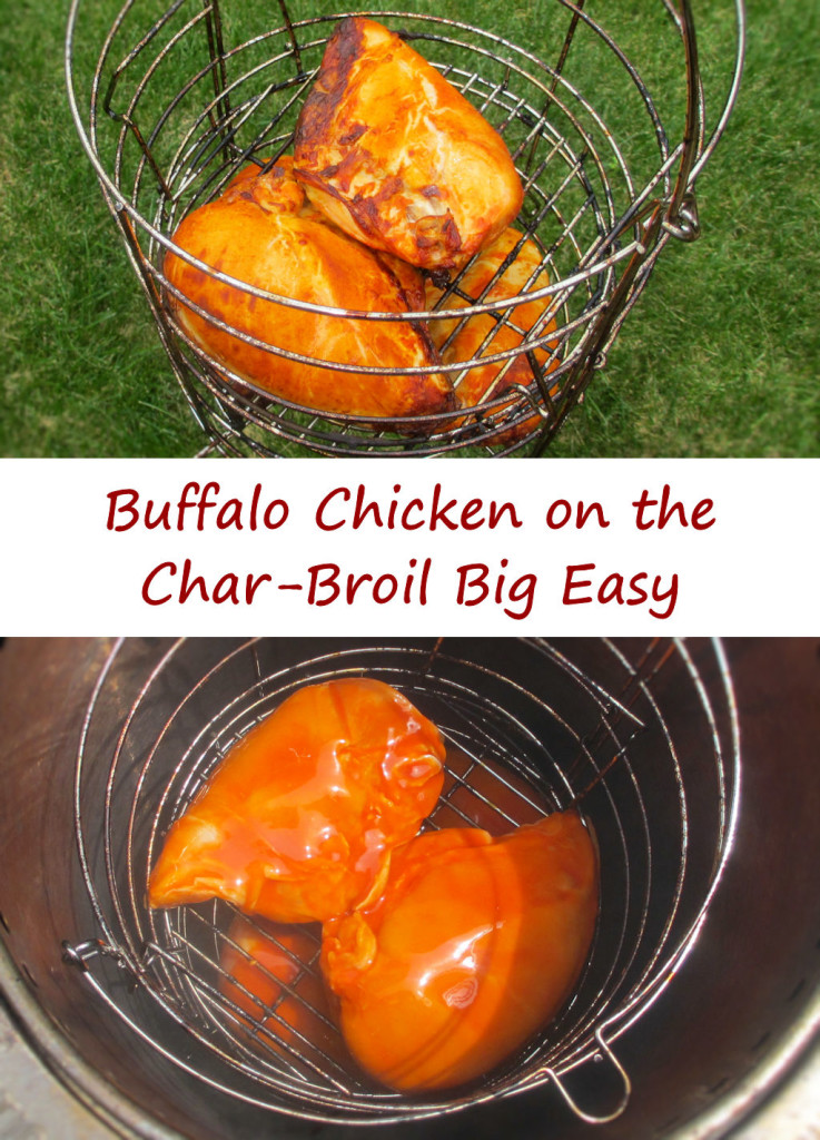 Buffalo Chicken on the Char-Broil Big Easy