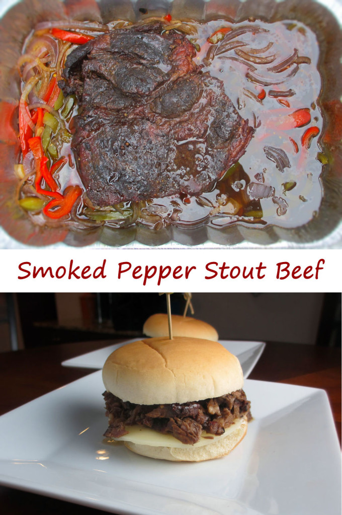 Smoked Pepper Stout Beef