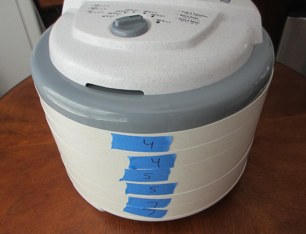 Dehydrator Labels
