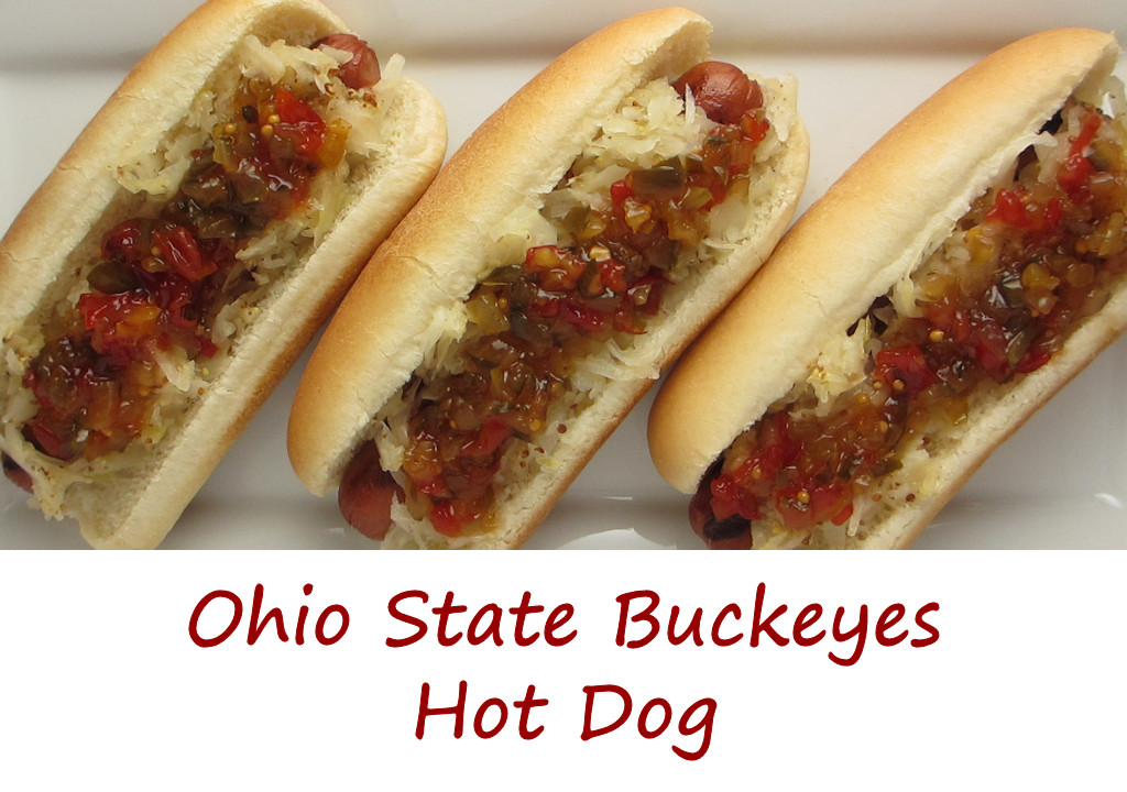 Ohio State Buckeyes Hot Dog