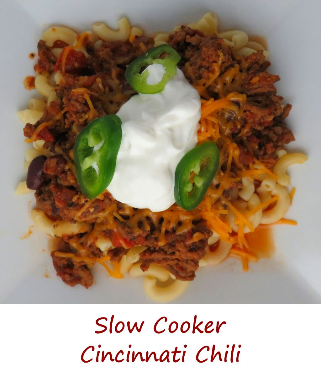 Slow Cooker Cincinnati Chili
