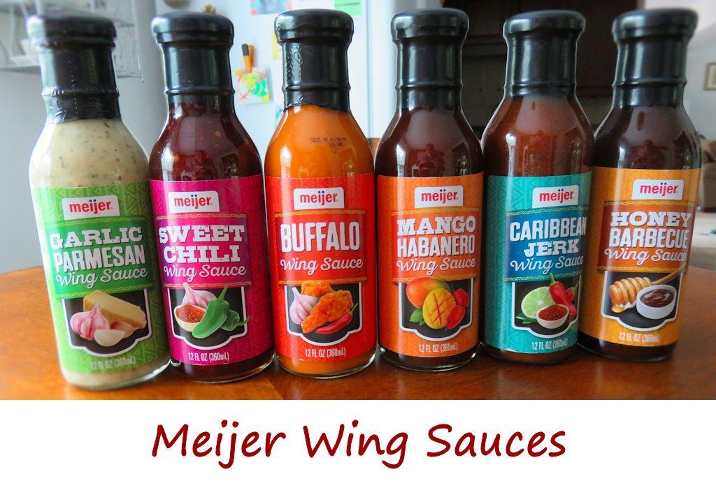Meijer Wing Sauces