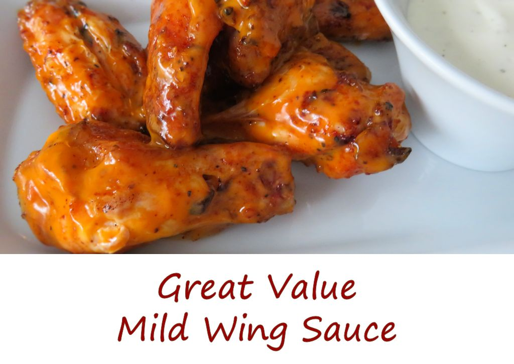 Great Value Mild Wing Sauce