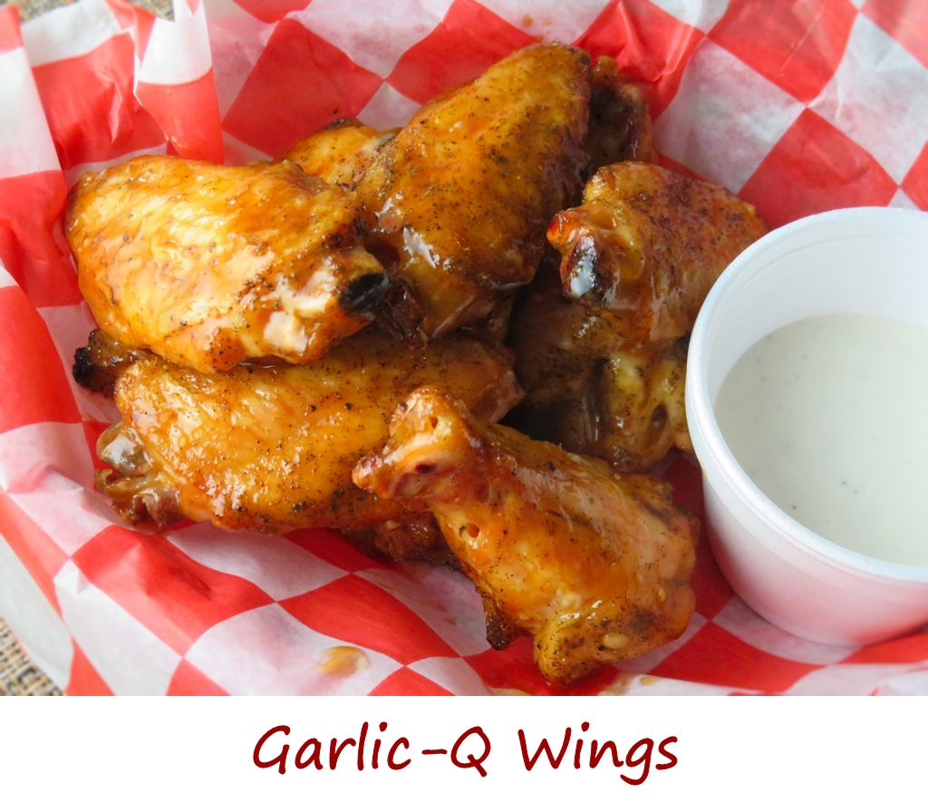 Garlic-Q Wings
