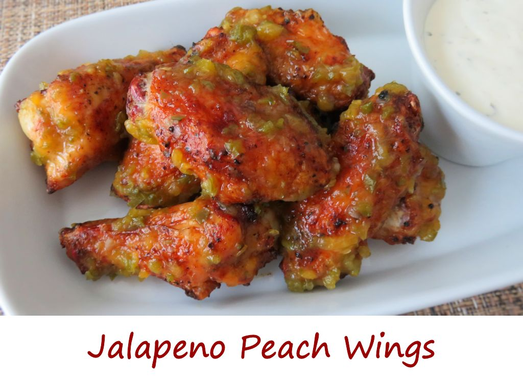 Jalapeno Peach Wings