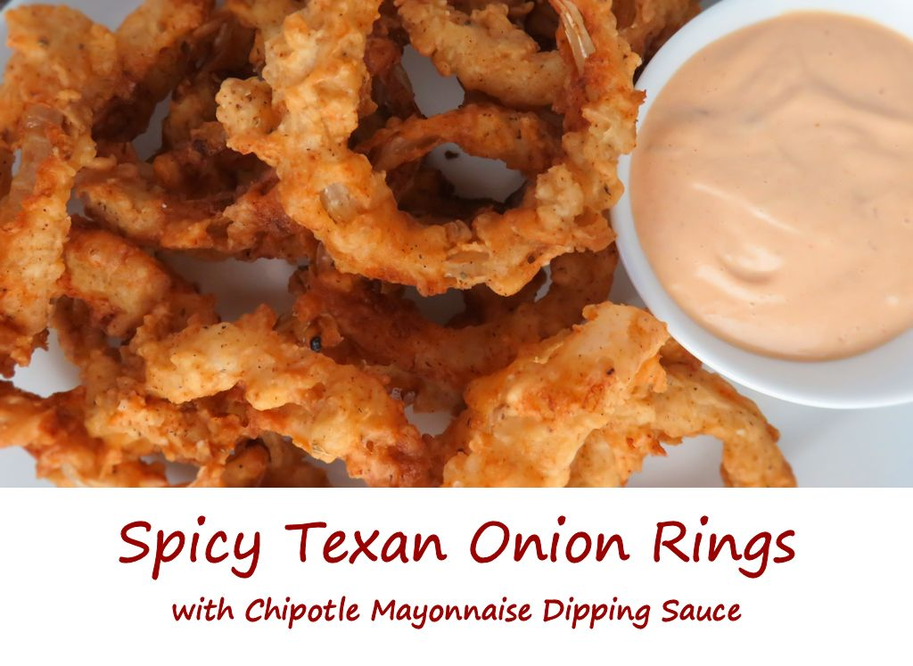 Spicy Texan Onion Rings