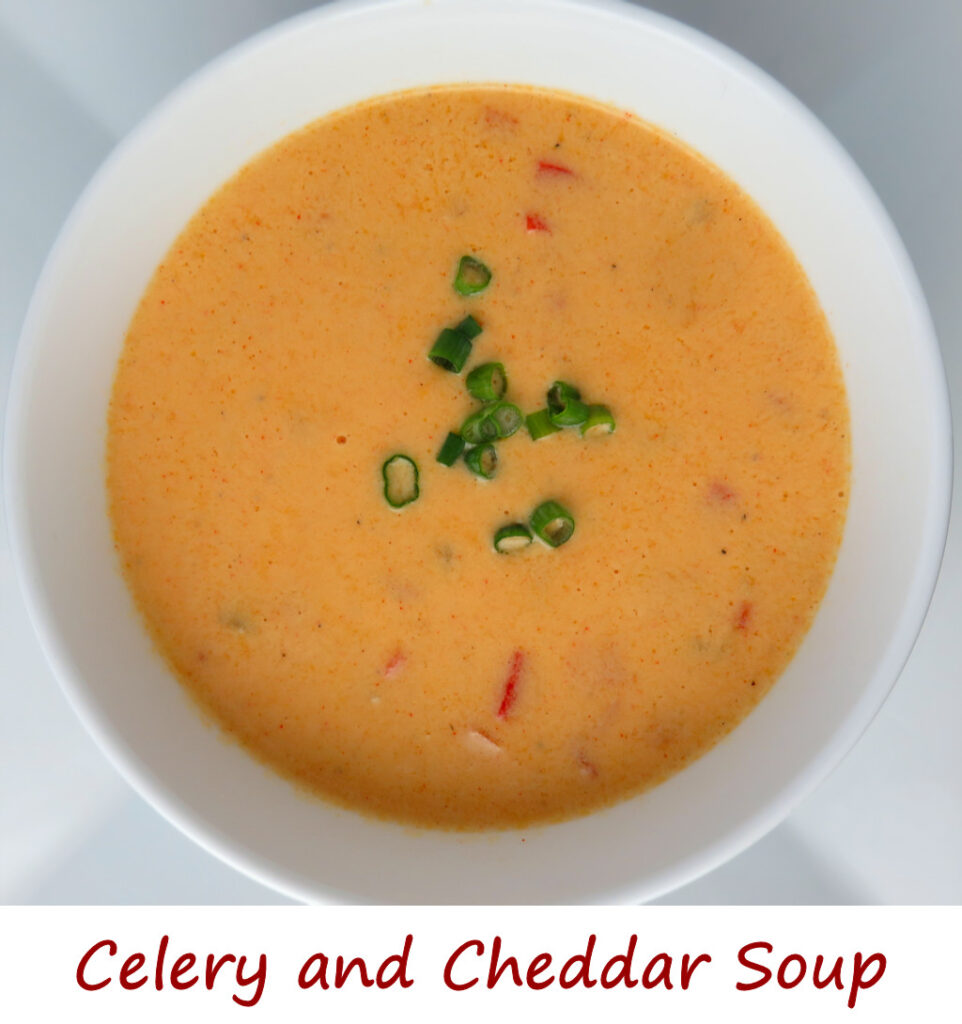 Celery and Cheddar Soup