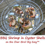 BBQ Shrimp in Oyster Shells on the Char-Broil Big Easy