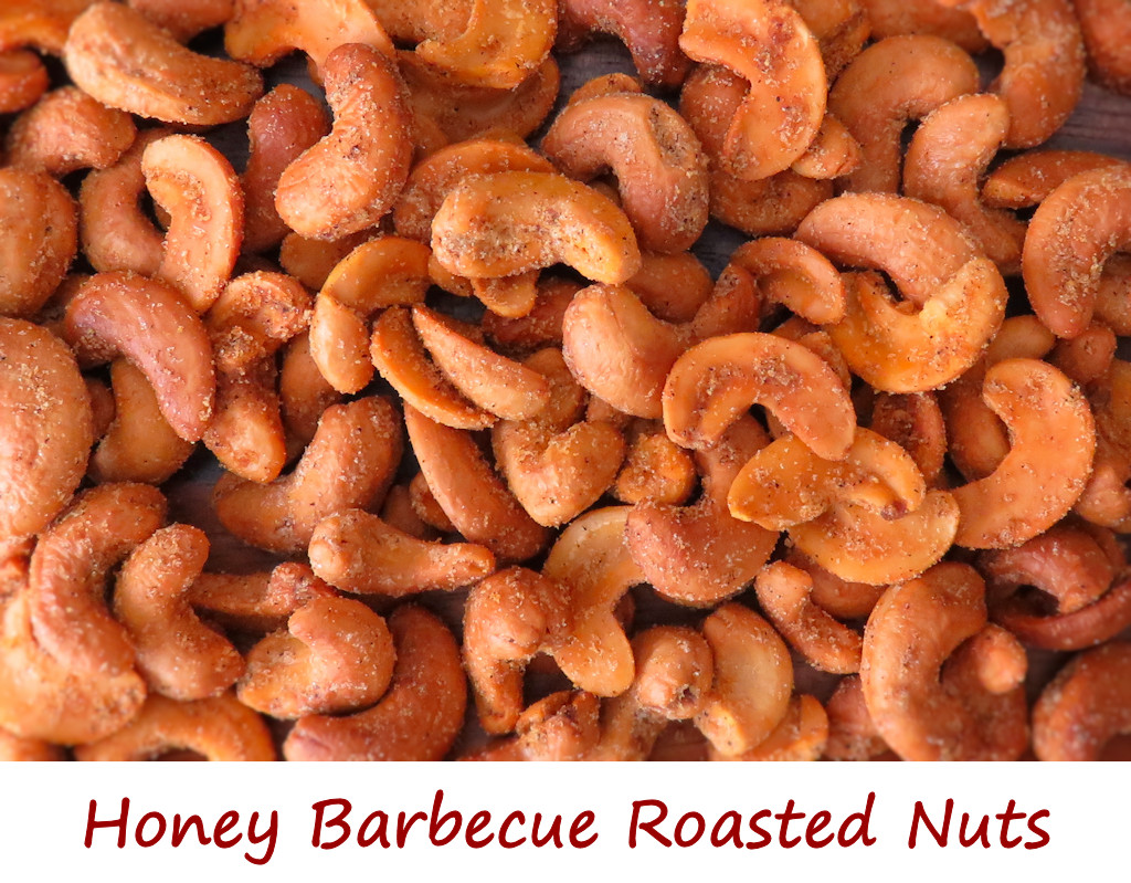 Honey Barbecue Roasted Nuts